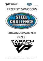 przepisy ZP Steel Challenge, 15.03.2021